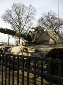 Tank at Victory Park