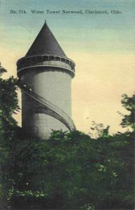 Postcard of the Norwood Water Tower